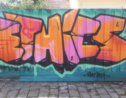 "Grafitti amb la paraula ""Ethics"""