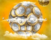 Imatge cercle de monedes. Font: Pixabay