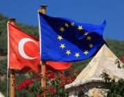 Bandera de la UE i Turquia. Font: PublicDomainPictures