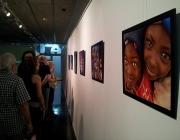 Exposició del camp de solidaritat de Camerun. Imatge CC de Flick SETEM Catalunya