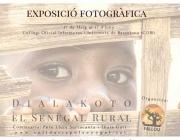 "Cartell exposició ""Dialakoto, el Senegal rural""   Fallou ong"