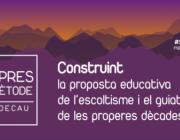 """Cartell del cicle """"Vespres de Mètode"""" / Foto: Federació Catalana d'Escoltisme i Guiatge"""