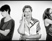 """""""Generacions tecnològiques"""". Foto guanyadora Femitic 2011 de Dones i TIC"""