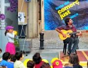 Festa del Comerç Just i la Banca Ètica 2013. Foto de l'organització.