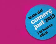 Logotip de la Festa del Comerç Just i la Banca Ètica 2013