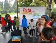 Una edició anterior de la Festa de la Infància. Foto: Ajuntament de Barcelona