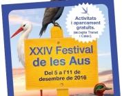 Del 5 a l'11 de desembre es celebra la 24º edició del Festival de les Aus als Aiguamolls de l'Empordà (imatge: http://parcsnaturals.gencat.cat/ca/aiguamolls-emporda)