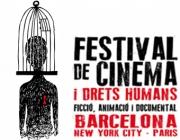 Logotip del X Festival de Cinema i Drets Humans de Barcelona