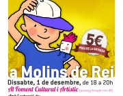 Cartell Festival Solidari a Molins de Rei