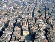 Vista de la ciutat d'Igualada, cap de comarca de l'Anoia© Arxiu Fototeca.cat