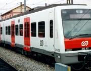Ferrocarril de la Generalitat de Catalunya de la línia del Vallès, cap a la UAB