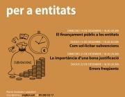 Formació sobre finançament públic per a entitats!