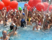 Imatge del 'Mulla't' en una de les seves piscines.