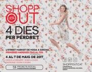 Cartell de la 9a edició del Shopp Out de Girona