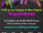II Nit de Llengua al Món Digital