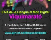 II Nit de la Llengua al Món Digital