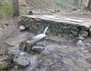 Font Nova al Barranc de la Pegunta, al Parc natural del Penyagolosa