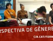 Imatge de difusió de la formació en perspectiva de gènere per a entitats del CJB