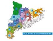 Grups d'Acció Local (GAL) LEADER de Catalunya. Font: www.leader.cat