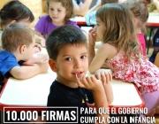 """Adees Infantils posa en marxa """"10.000 firmes per la infancia"""""""