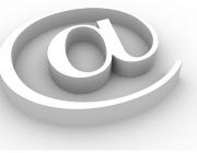 L'arroba, símbol del correu electrònic. Imatge de Micky Aldridge.