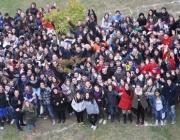 Joves a la Setmana pels Drets de la Joventut.Font: Fundació Catalana de l'Esplai