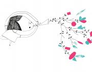 Imatge d'una nena tocant una flauta extreta del web de Comusitària