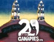 Mural commemoratiu de Ganàpies de la UAB