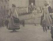 Gegants a la festa de la Patum l'any 1926