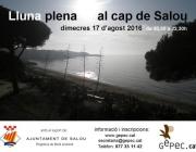 Cartell de la sortida  d'educació ambiental nocturna amb el Gepec a Salou (imatge: gepec.cat)