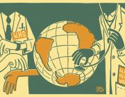 La salut al món. Font: Wikimedia