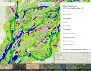 Una nova eina mostra les variacions a l'aigua superficial al planeta (imatge: Global Surface Water Explorer)
