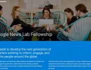 Difusió de la iniciativa al web de Google News Lab