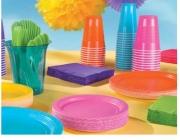 Els gots de plàstic d'un sol ús queden prohibits a França a partir del 2020 (imatge: partycity.com)
