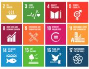 Objectius de l'Agenda 2030. Font: Agorarsc.org