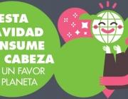 Imatge de la campanya Fes un regal al planeta de Greenpeace (imatge: greenpeace.org)
