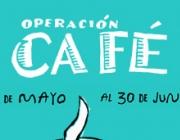 Logo de la campanya Operación Café