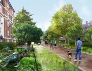 Espais urbans amb horts com a estratègia de resiliència (imatge:theguardian.com)