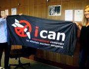 ICAN és la campanya per abolir les armes nuclears al món.