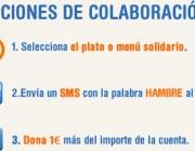 Imatge Restaurants contra la Fam. Font: Web Acció Contra la Fam