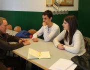 Joves i mentor. Font: Fundesplai