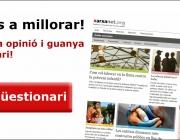 Ajuda'ns a millorar xarxanet.org i guanya un lot solidari!