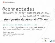 #connectades jornades de debat intergeneracional a la Catalunya Central