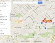 Imatge de la Ruta històrica dels teatres del Paral·lel de Barcelona a Google Maps