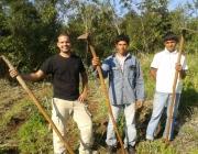 Imatge d'un voluntariat a Paraguai 2013