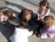 Infants jugant. Font: Ajuntament de Barcelona
