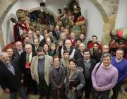 Representants de les 23 federacions de cultura popular membres de l'ENS