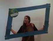 Rosa, responsable de les formacions de voluntariat a COCAT. Font:COCAT