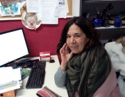 Adela Hidalgo, directora de l'Esplai Eixida de Sant Boi de Llobregat. Font: Júlia Hinojo