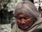 Dona de la comunitat indígena, a San Cristóbal de las Casas